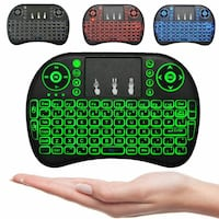 MINI KEYBOARD MOUSE WIRELESS 2.4 GHZ 3 IN 1 ANDROID SMART TV PC+ Longueuil, J3Y