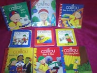 Caillou book collection 3 hardback set Midland, 79705