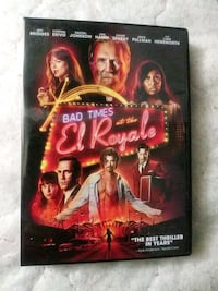 Bad times at El Royal dvd