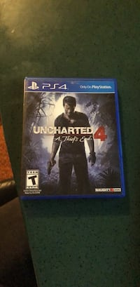 Sony ps4 uncharted 4 a thief's end Game Bellevue, 68147