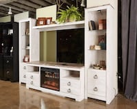 Willowton entertainment center By Ahsley furniture tv stand 4pc set   Jacksonville, 32246