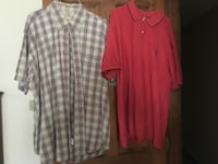 Men's Short Sleeve Shirts $2 each. Price Reduced from $3 each to $1.62 each! Great Buy! Palmer, 18045