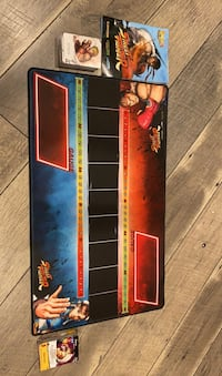 Street Fighter card game