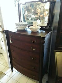 Renaissance Revival Wooden dresser with mirror Odenton, 21113