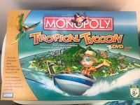 Tropical Tycoon DVD Monopoly Game
