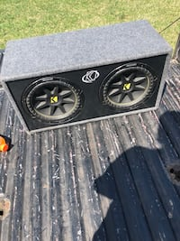 Black kicker subwoofer with enclosure Manchester, 08759