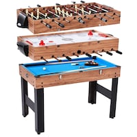 NEW Lancaster Gaming Co. Billiard, Slide Hockey + Foosball  Game Table Omaha, 68105