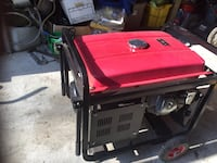 red and black portable generator Aquasco, 20608