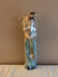 """Vintage Asian doll / figure in original plastic container. Approx 15"""" tall Surrey, V3V 7L9"""