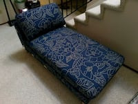 blue and white floral fabric sofa Milpitas, 95035