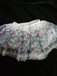 white and pink floral skirt Chesapeake, 23323