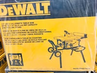 Dewalt miter saw with stand box Rockville, 20850