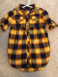 Size 18-24M Flannel Dress