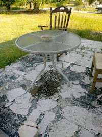 Glass patio table Waterloo, 29384