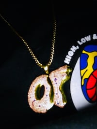 14 k gold plated odd future king ice limited edition chain Vancouver, 98682