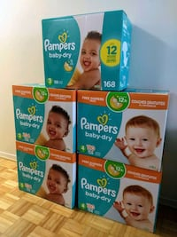 Pampers Dry Diapers
