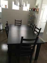 IKEA Dining Table & 8 Chairs  Calgary, T2Z 1K1