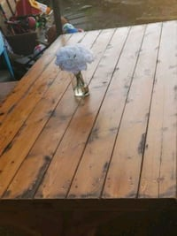 Farmhouse  rustic dining table North Vancouver, V7N 3W3