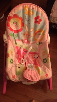 baby's pink and green bouncer Alexandria, 22315