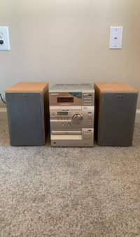 Sony Old School Stereo System