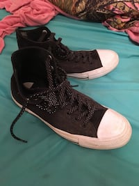 pair of black-and-white Nike basketball shoes Gulfport, 39503