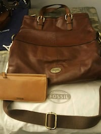 Leather authentic fossil purse and wallet Overland Park, 66213