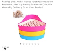 Bunny litter potty train boxes (3) Los Angeles, 90057