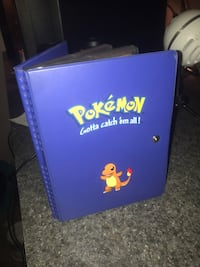 Pokemon Collector Card Book w/ Cards