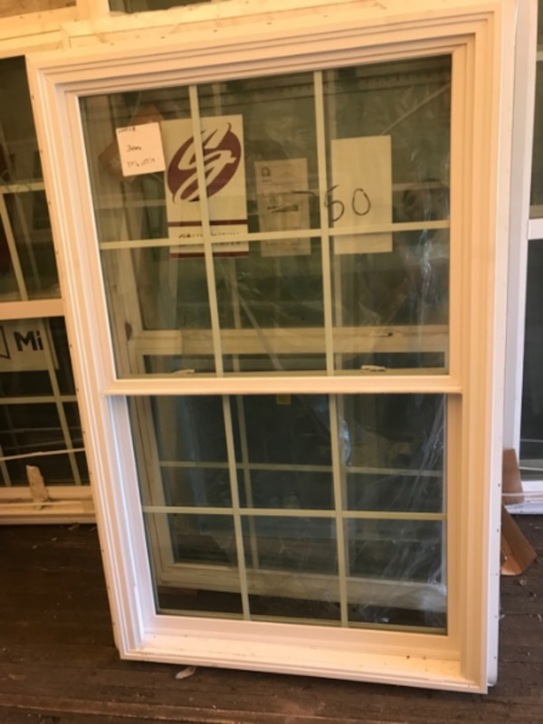 New construction double hung with grids low e 22019 68