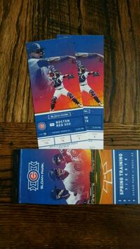 Chicago Cubs vs Boston Red Sox Scottsdale