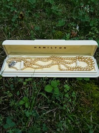Hamilton champagne real pearls with safety clasp Kingsport, 37660