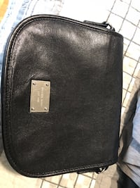 Michael kors saddle bag black