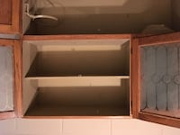 Antique hoosier / kitchen cabinet Vienna