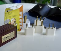 International Travel Voltage Converter / Foreign Plug Adapter Kit Bethesda, MD, USA
