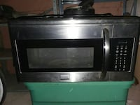 stainless steel and black microwave oven Fort Wayne, 46802