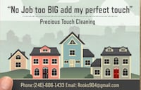Precious Touch Cleaning  Oxon Hill, 20745
