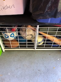 Toy and sports storage box bench