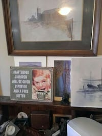 assorted-theme painting lot Sidney, V8L 1S3