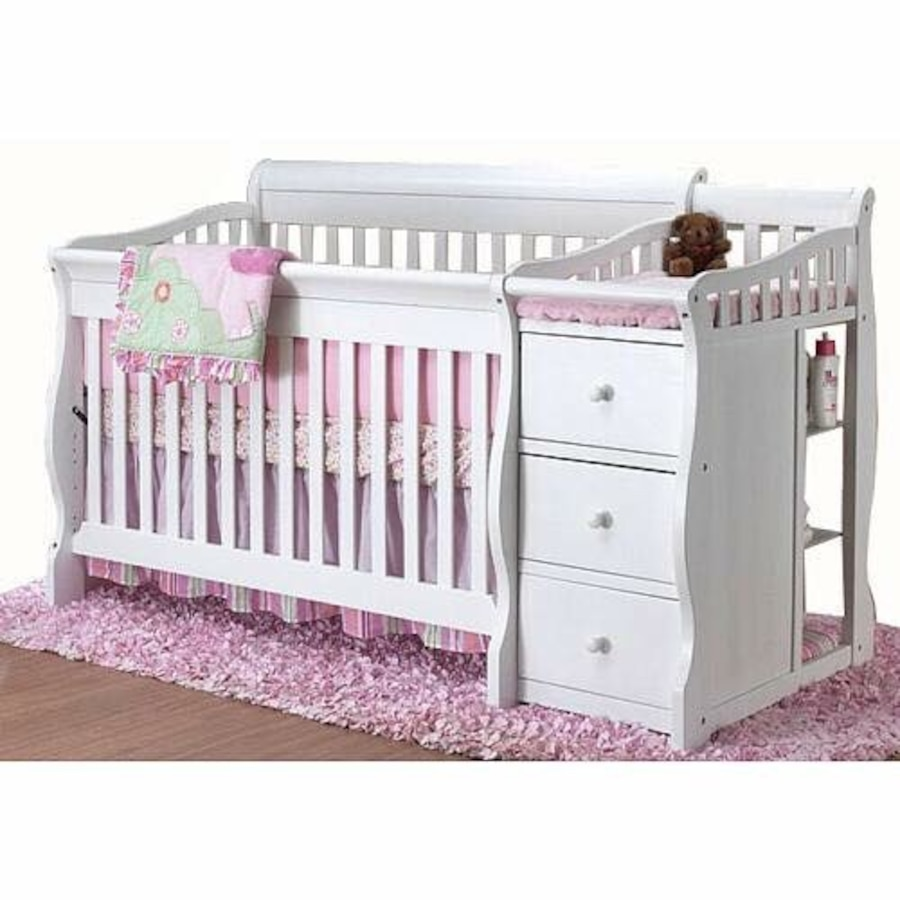 Used Sorelle Princeton 4 In 1 Convertible Crib And Changer