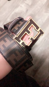 Brown fendi belt Calgary, T1Y 1K3