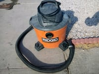black and orange Ridgid wet and dry vacuum cleaner North Las Vegas, 89030