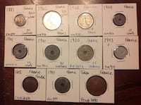 Old coins from france 31 km