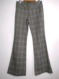Guess Jeans Grey Plaid Pants Hamilton, L9A