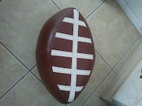 brown and white football ottoman Bakersfield, 93306