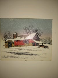 Painting Hargrove collectible CoA. $25 value Mount Prospect, 60056