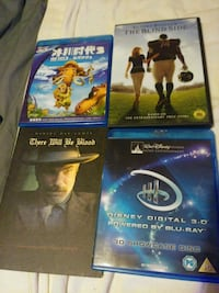 82 movies plus Sony DVD player. Several Bluerays Baltimore, 21206