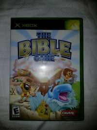 XBOX THE BIBLE GAME COMPLETE