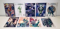 Captain Marvel comic book collection 9 issues #1-up + VARIANT Toronto