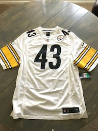 Steelers XL nike Troy polamalu 100% real jersey MSRP 100.00 selling for 65.00 El Paso, 79936