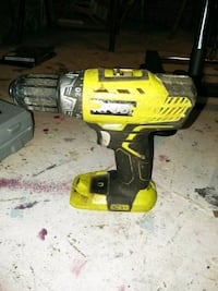 yellow and black DeWalt cordless power drill Sacramento
